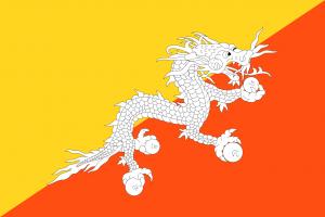 Bandera de Bhutan