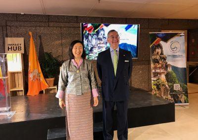 Embajadora Butan - Presidente GNH