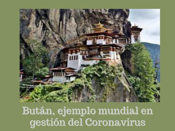 Mensaje del Presidente de GNH Center Spain sobre la situación en Bután
